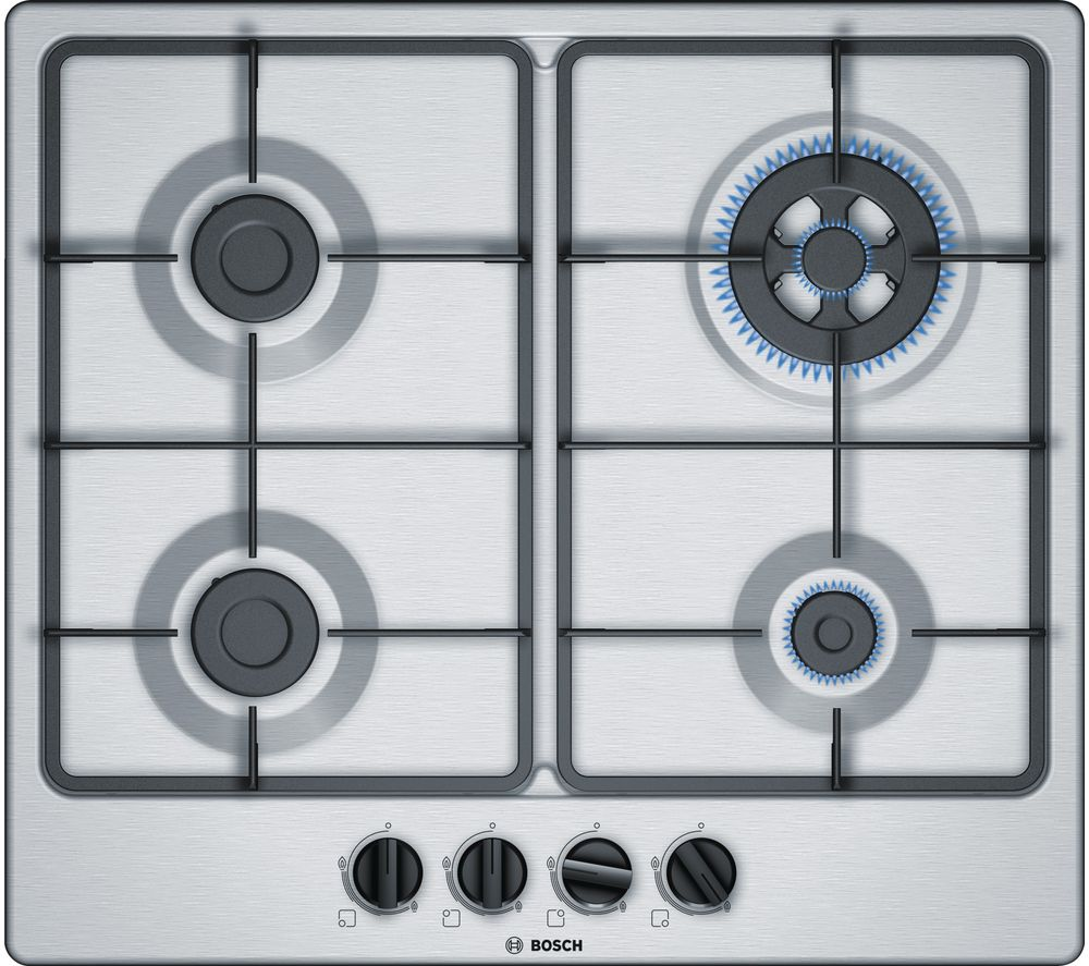 Compare retail prices of Bosch PGH6B5B60 Gas Hob Stainless Steel to get the best deal online