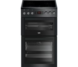 BEKO Pro XDVC5XNTT 50 cm Electric Cooker - Anthracite Best Price, Cheapest Prices
