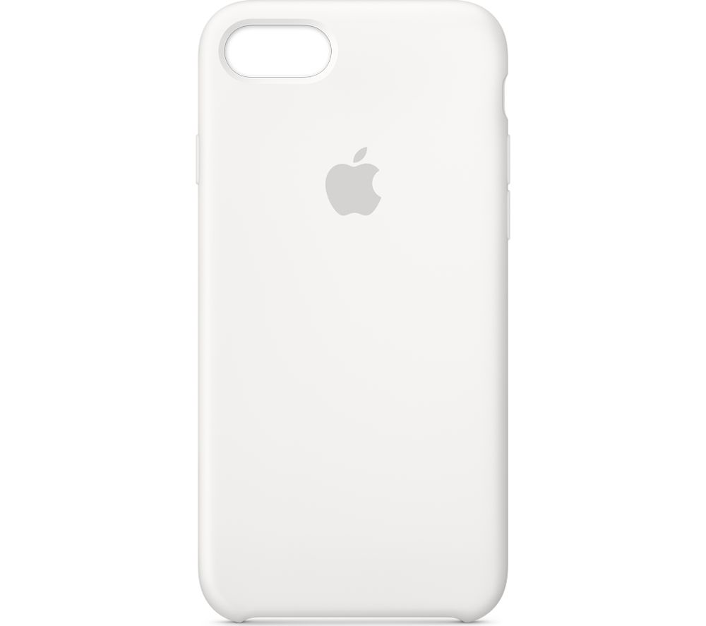 eca1cce0de Buy APPLE iPhone 8 & 7 Silicone Case - White | Free Delivery | Currys