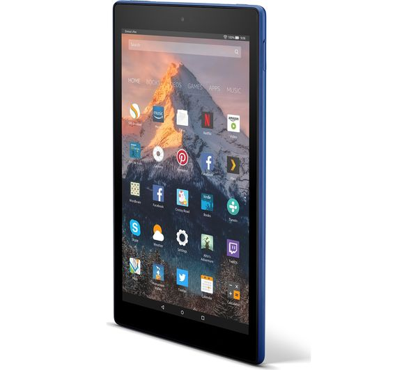 Smart Credit Com >> Buy AMAZON Fire HD 10 Tablet with Alexa (2017) - 32 GB, Blue | Free Delivery | Currys