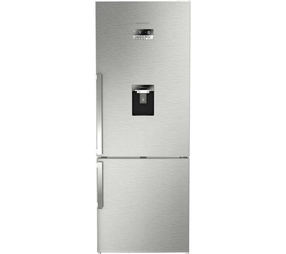 GRUNDIG American Style Fridge Freezer Stainless Steel GKN17920DX, Stainless Steel