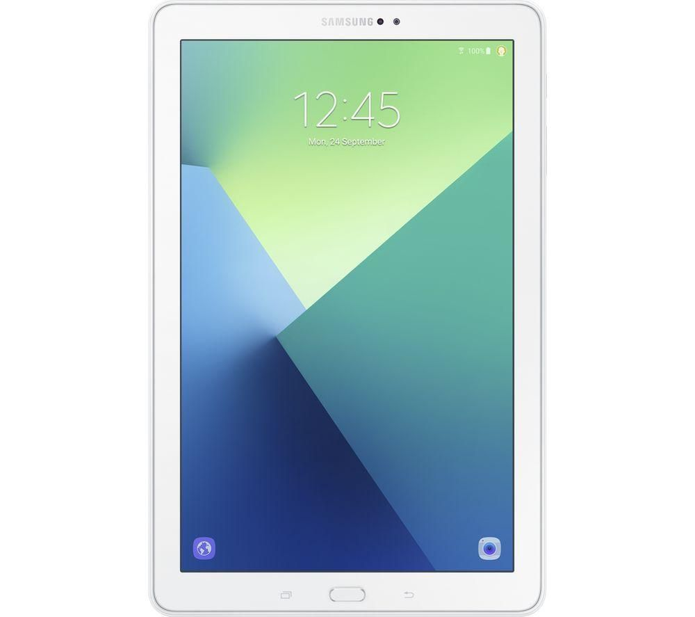 "Image of SAMSUNG Galaxy Tab A 10.1"" Tablet - 32 GB, White, White"
