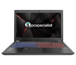 "PC SPECIALIST Defiance XS 15.6"" Intel® Core™ i7 GTX 1070 Gaming Laptop - 1 TB HDD & 250 GB SSD"
