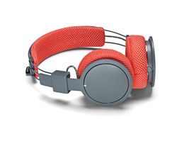 URBANEARS Hellas Trail Wireless Bluetooth Headphones - Orange & Grey
