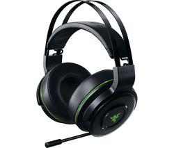 RAZER Thresher Wireless 7.1 Gaming Headset - Black & Green