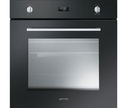 SMEG Cucina SF485N Electric Oven - Black