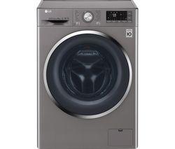 LG FH4U2VCN8 Smart 9 kg 1400 Spin Washing Machine - Graphite