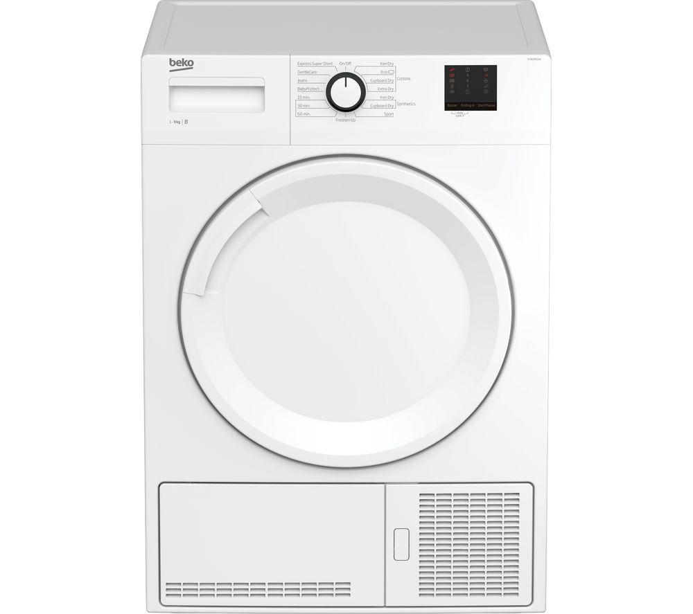 BEKO DTBC9001W 9 kg Condenser Tumble Dryer - White