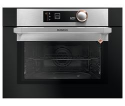DE DIETRICH DKC7340X Built-in Combination Microwave - Black & Silver