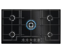 AEG HKB95540NB Gas Hob - Black
