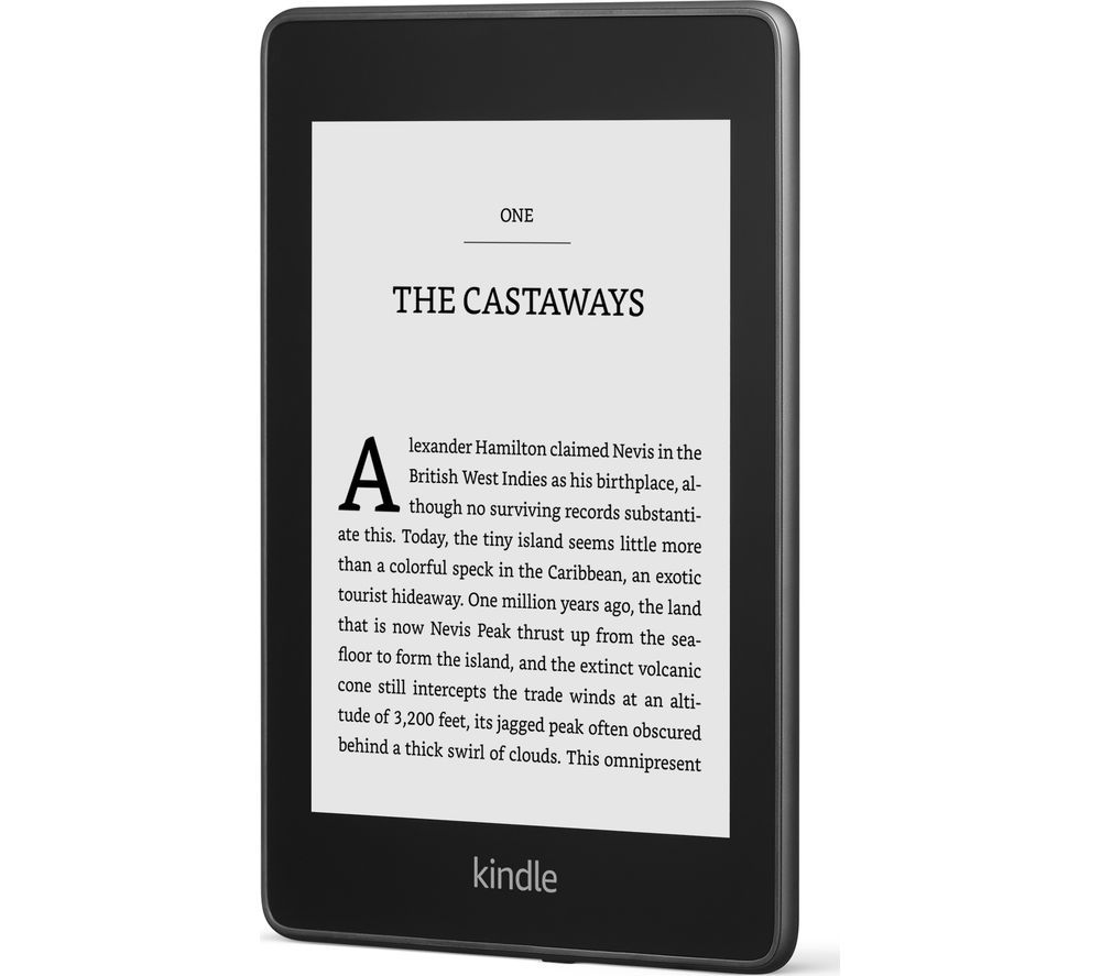 KINDLE Paperwhite 6 inch eReader - 8 GB, Black