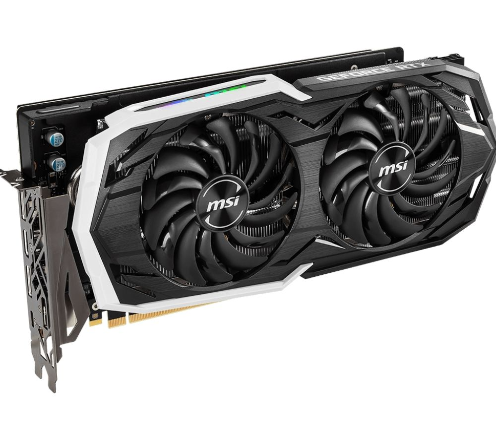 MSI GeForce RTX 2070 8 GB ARMOR Graphics Card
