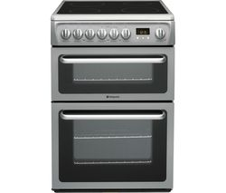 HOTPOINT DSC60SS 60 cm Electric Ceramic Cooker – Graphite