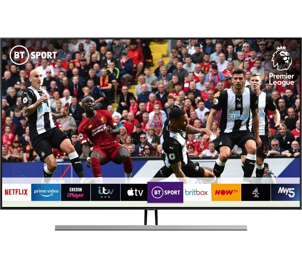 "SAMSUNG QE55Q85RATXXU 55"" Smart 4K Ultra HD HDR QLED TV with Bixby"