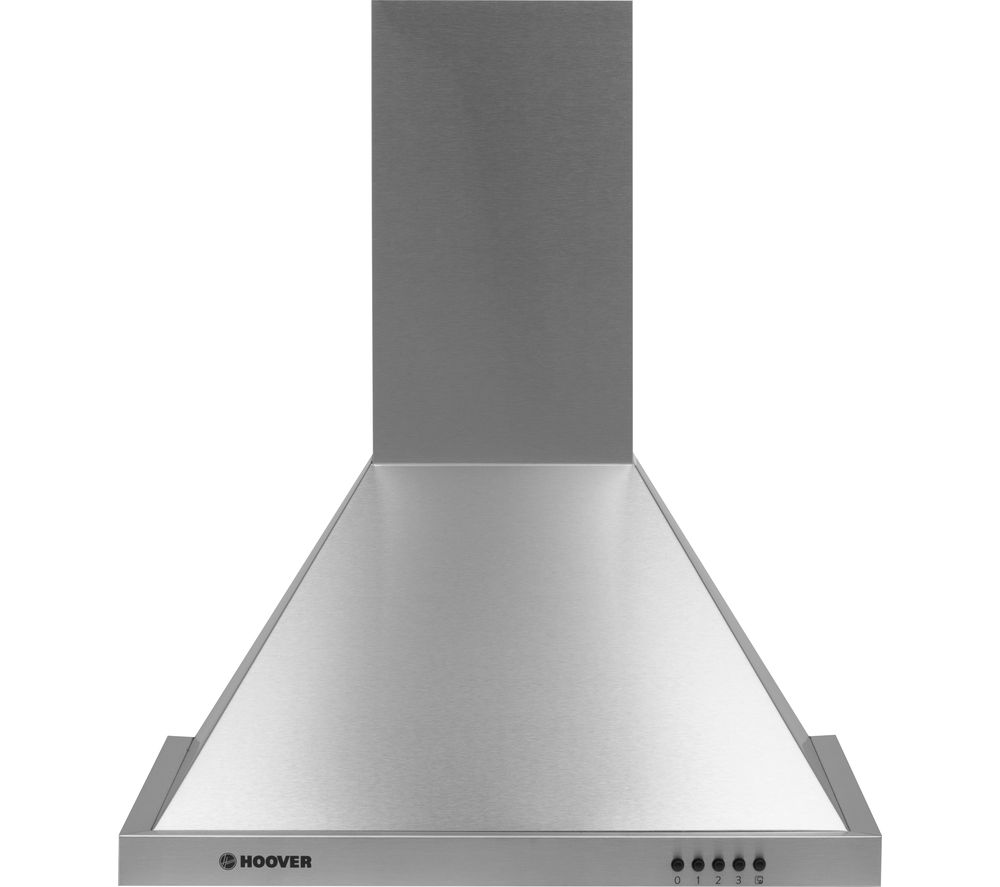 Image of HOOVER HCE116NX Chimney Cooker Hood - Stainless Steel, Stainless Steel