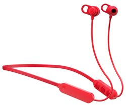 SKULLCANDY Jib+ Wireless Bluetooth Earphones - Red