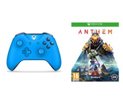 XBOX ONE Anthem & Xbox Wireless Controller Bundle - Blue