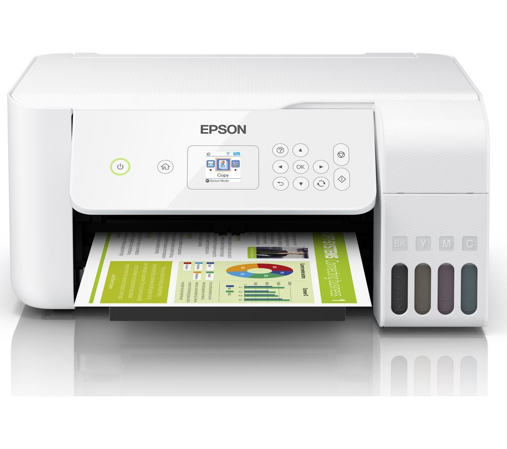 Image of EcoTank ET-2726 All-in-One Wireless Inkjet Printer