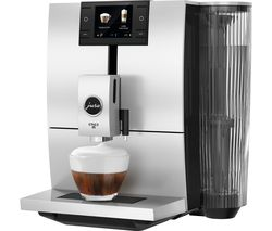 JURA ENA 8 Smart Bean to Cup Coffee Machine - Metropolitan Black Best Price, Cheapest Prices