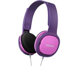 SHK2000PK Kids Headphones - Pink & Purple