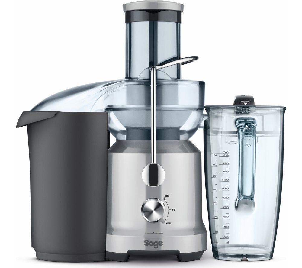 Image of SAGE BJE430SIL the Nutri Juicer Cold - Silver, Silver