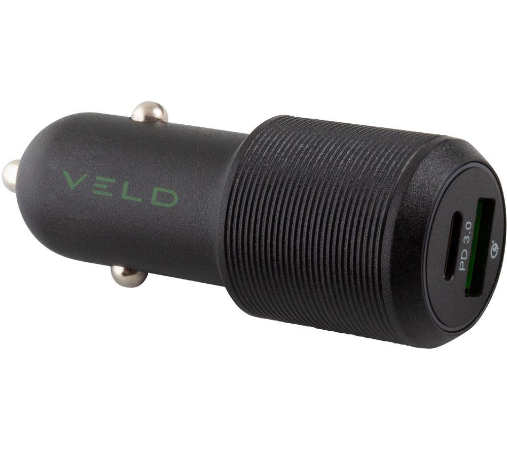 VELD VC48DG Universal USB Car Charger
