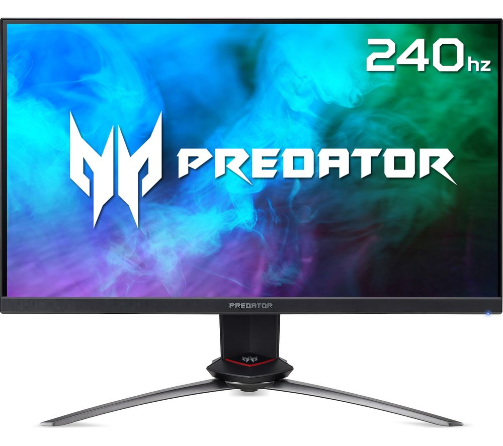 "Image of ACER Predator XB273QGXbmiiprzx Full HD 27"" IPS LCD Gaming Monitor - Black, Black"