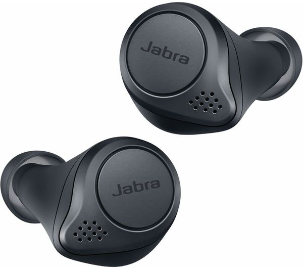 JABRA Elite Active 75T Wireless Charging Enabled Wireless Bluetooth Sports Earbuds - Grey
