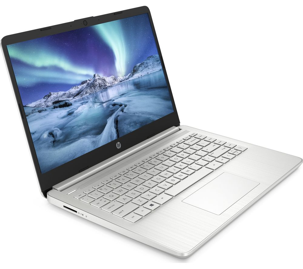 "Image of HP 14s-dq1508sa 14"" Laptop - Intel®Core™ i3, 256 GB SSD, Silver, Silver"