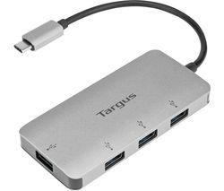 USB-C to 4-port USB-A Hub