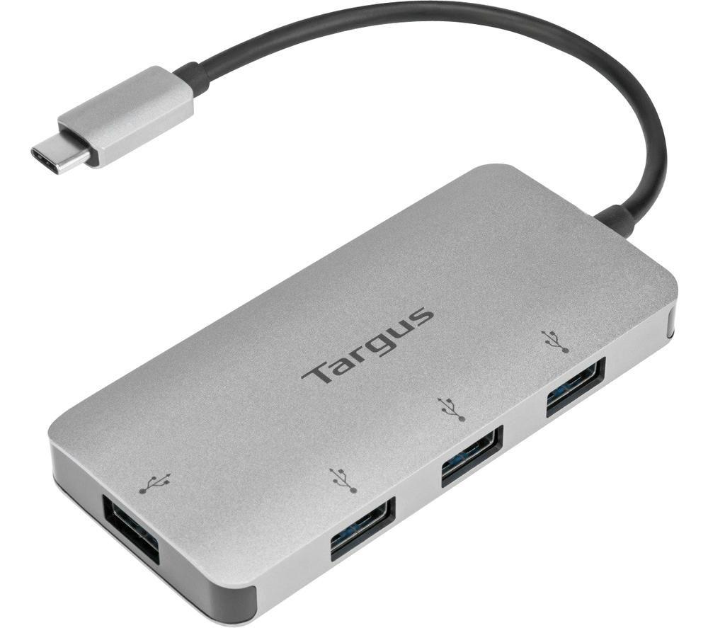 Image of TARGUS USB-C to 4-port USB-A Hub