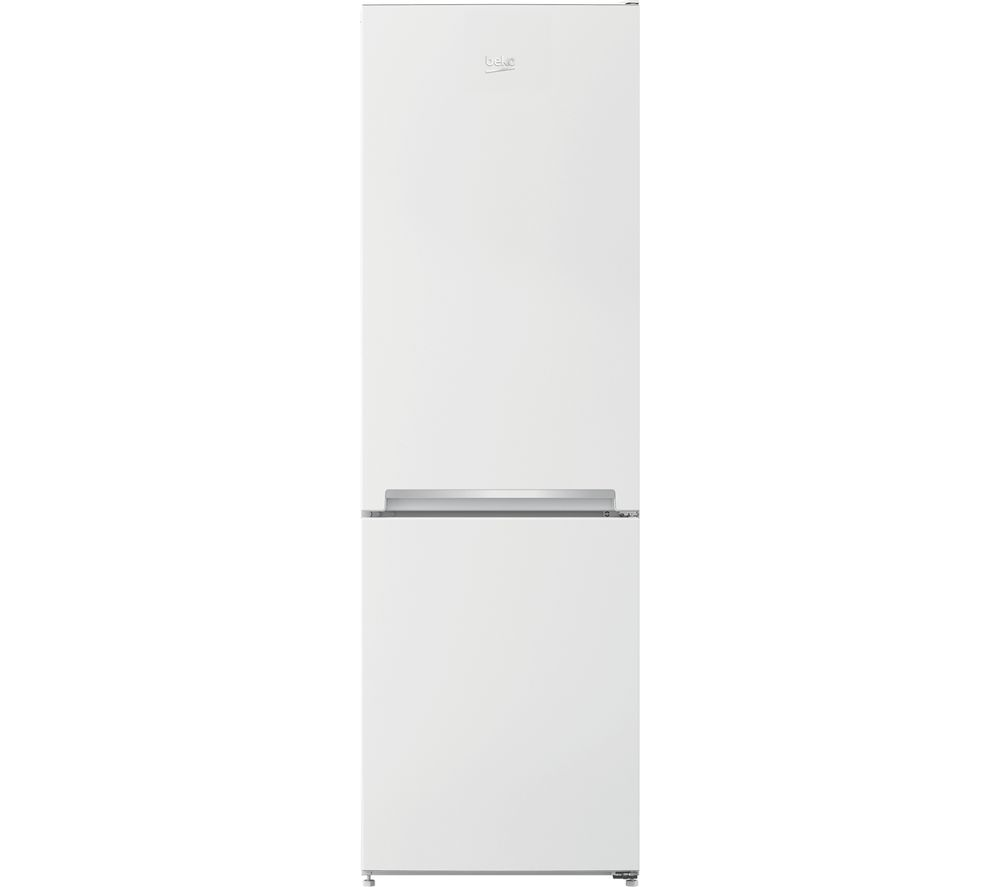 Image of BEKO CSG3571W 60/40 Fridge Freezer - White, White