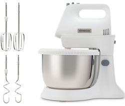 KENWOOD Chefette Lite Stand Mixer - White Best Price, Cheapest Prices