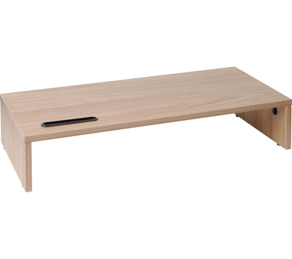 Image of TTAP MP1008 540 mm Monitor Stand – Light Oak