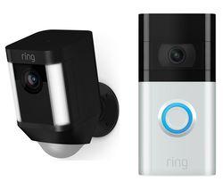 Spotlight Cam Battery & Video Doorbell 3 Bundle