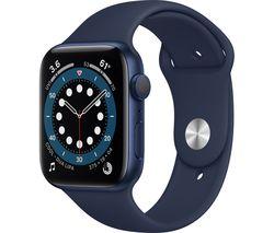 Watch Series 6 - Blue Aluminium with Deep Navy Sports Band, 44 mm