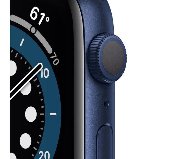 Buy APPLE Watch Series 6 - Blue Aluminium with Deep Navy..