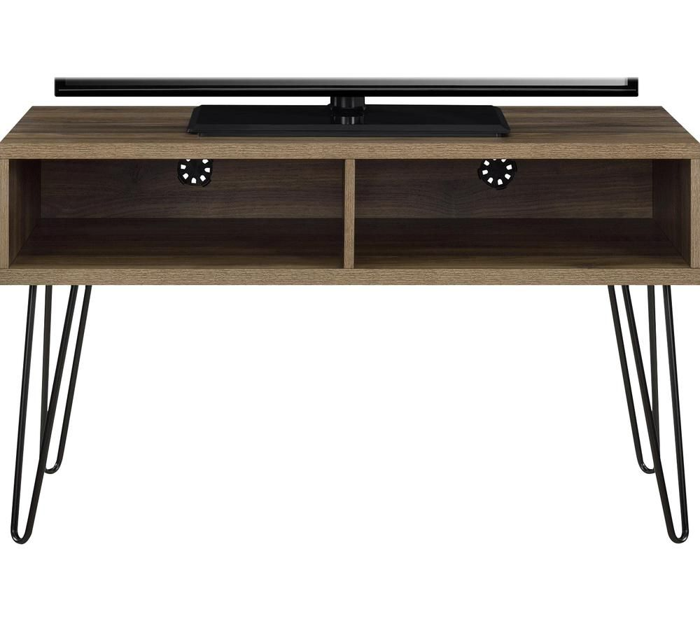 DOREL HOME Owen Retro 1748196COMUK 1067 mm TV Stand - Rustic oak