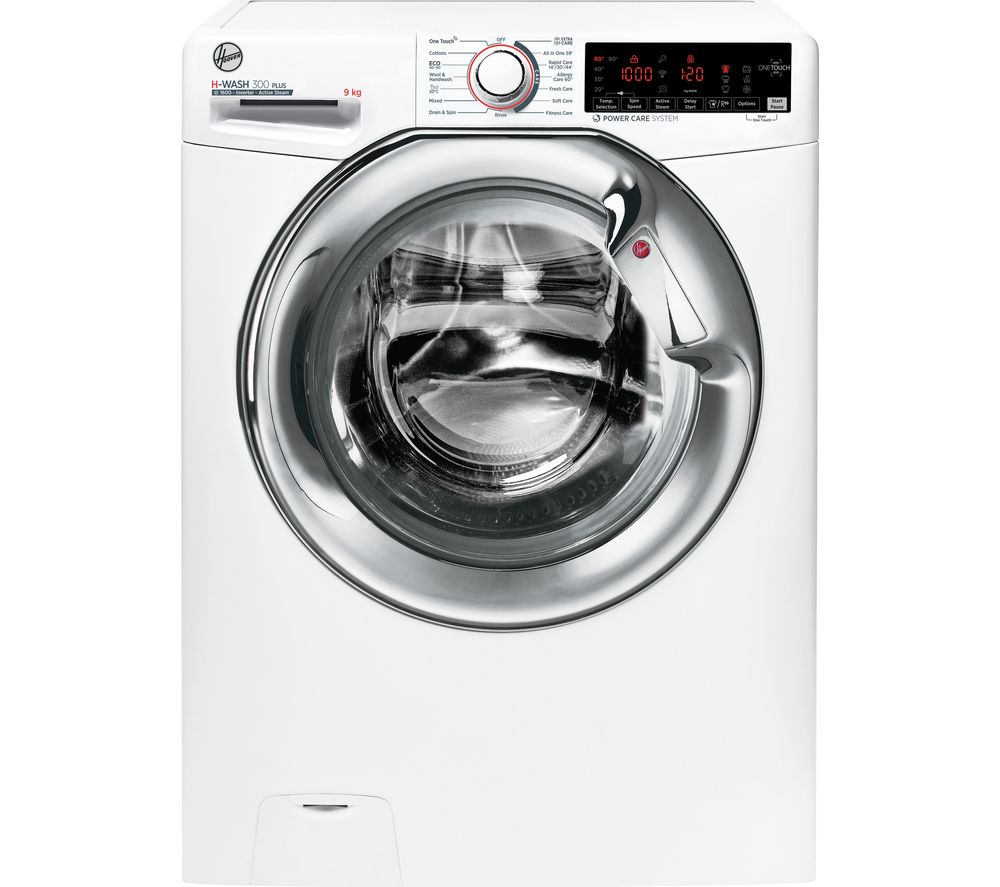 HOOVER H-WASH 300 H3WS69TAMCE NFC 9 kg 1600 Spin Washing Machine - White
