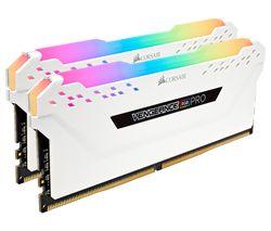 Vengeance Pro RGB DDR4 3200 MHz PC RAM - 8 GB x 2