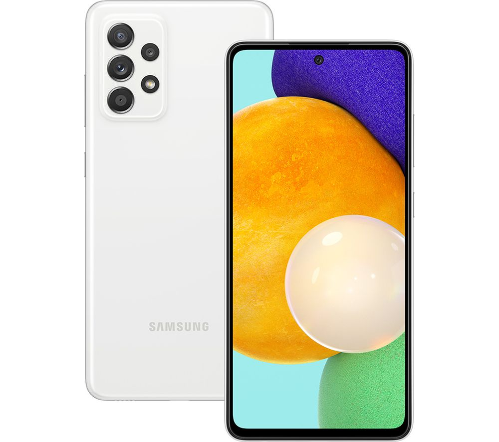 SAMSUNG Galaxy A52 5G - 128 GB, Awesome White
