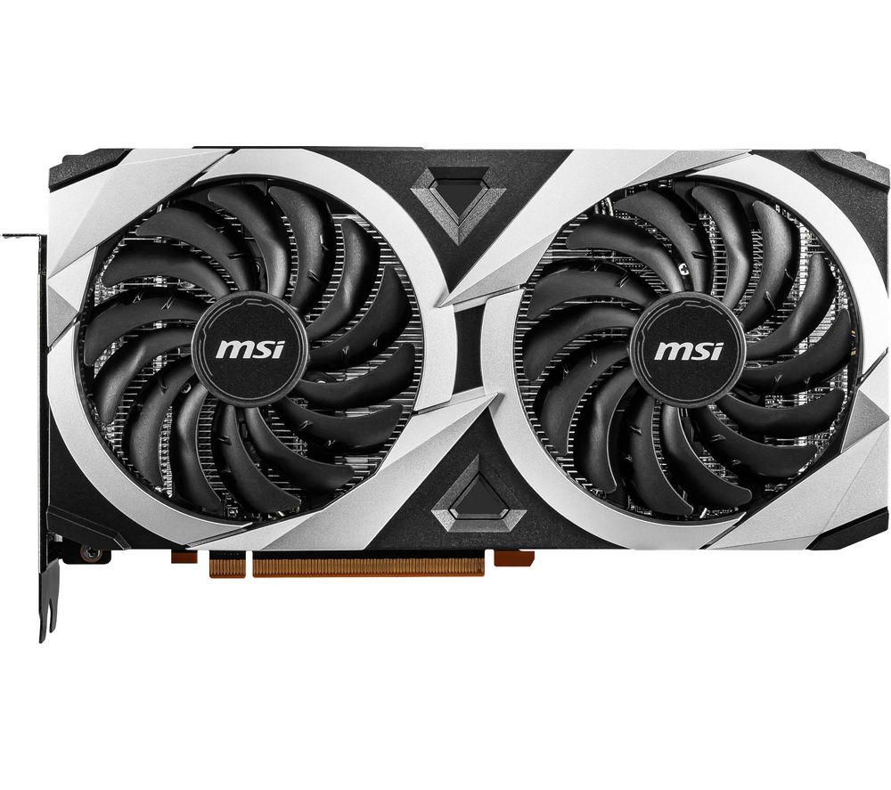 MSI Radeon RX 6700 XT 12 GB MECH 2X OC Graphics Card