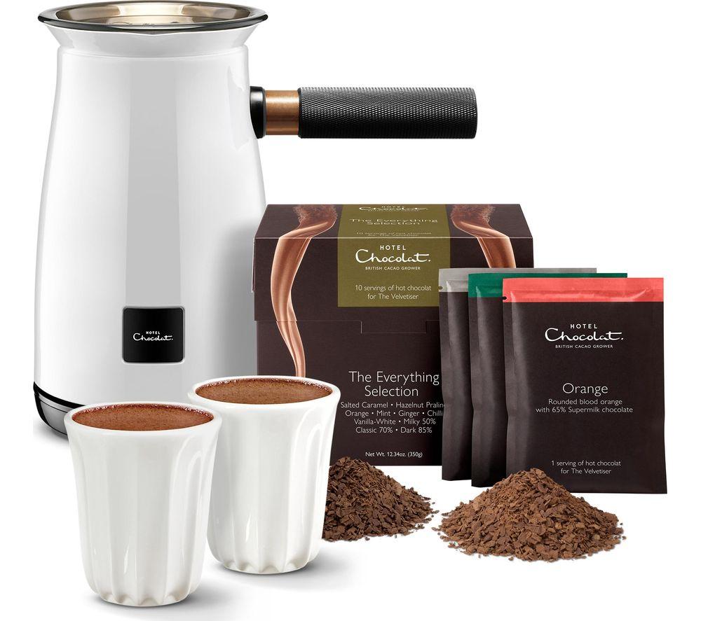 HOTEL CHOCOLAT HC01 Velvetiser Hot Chocolate Machine - White