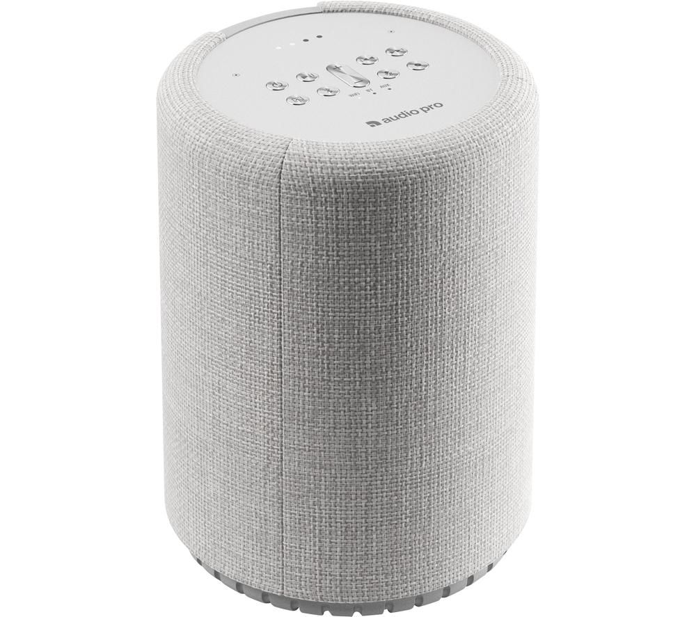 AUDIO PRO G10 Wireless Multi-room Speaker with Google Assistant - Light Grey