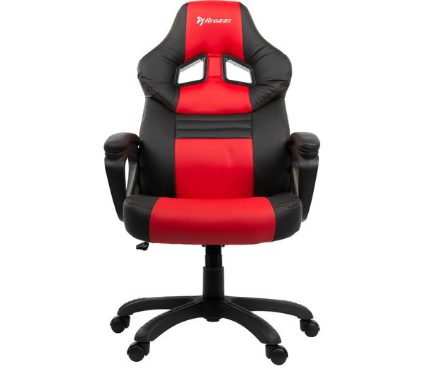 AROZZI Monza Gaming Chair - Red & Black, Red