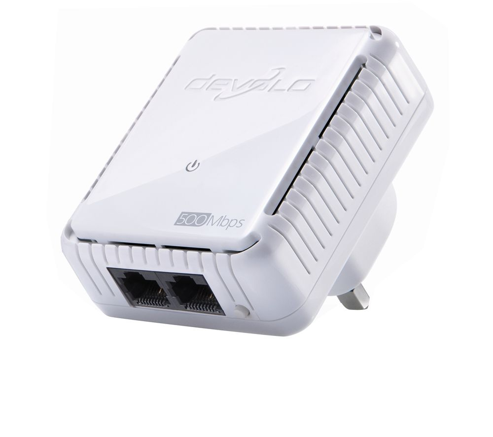 Cheapest price of Devolo dLAN Duo 500 Powerline Adapter Add-on in new is £17.99