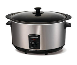 MORPHY RICHARDS 48705 Sear and Stew Slow Cooker - Stainless Steel Best Price, Cheapest Prices