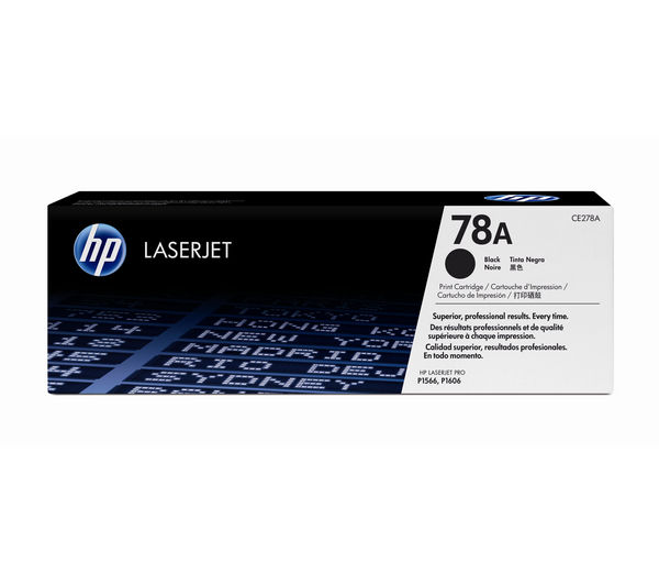 HP LaserJet 78A Black Toner Cartridge