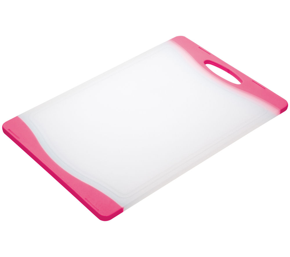 COLOURWORKS 35 cm x 24 cm Cutting Board - Pink