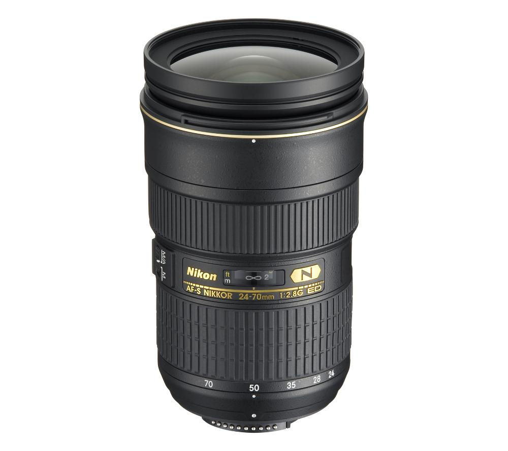 buy nikon af s nikkor 24 70 mm f 2 8g ed wide angle zoom lens free rh currys co uk Canon 24-70Mm 24-70Mm Wedding